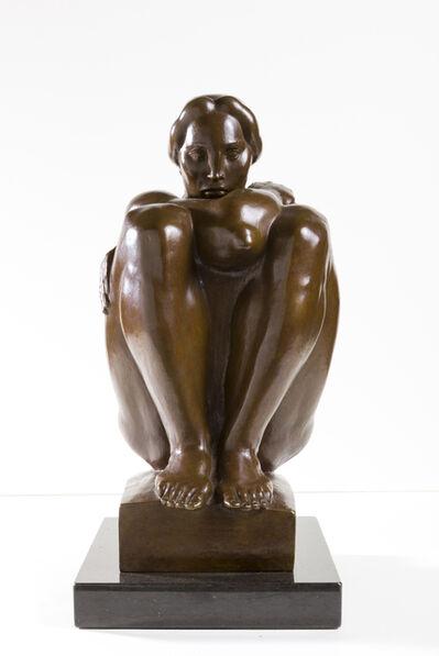 Donald De Lue, 'Seated Woman', 1934