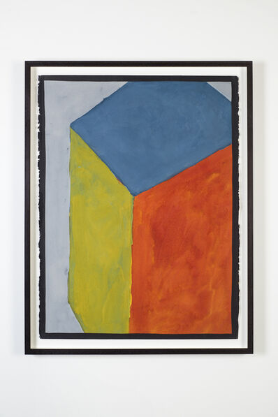 Sol LeWitt, 'Cube with Colors Superimposed (sloppy)', 1991