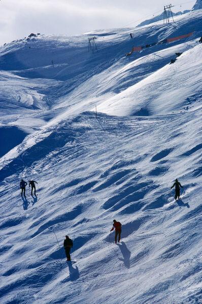 Slim Aarons, 'Skiing At St. Moritz, limited edition print', 1978