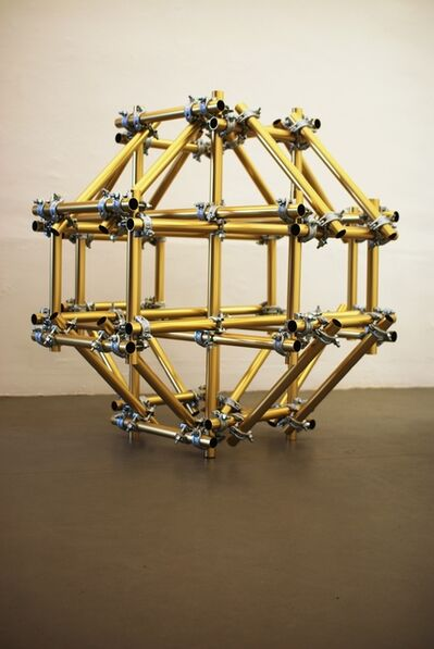 Xavier Mary, 'Condensed Structure - gold version', 2009
