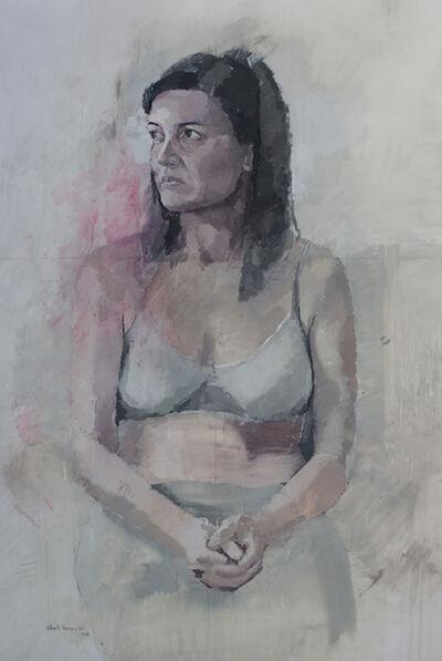 """Alberto Romero, '""""Retrato de Ana sentada""""', 2017"""