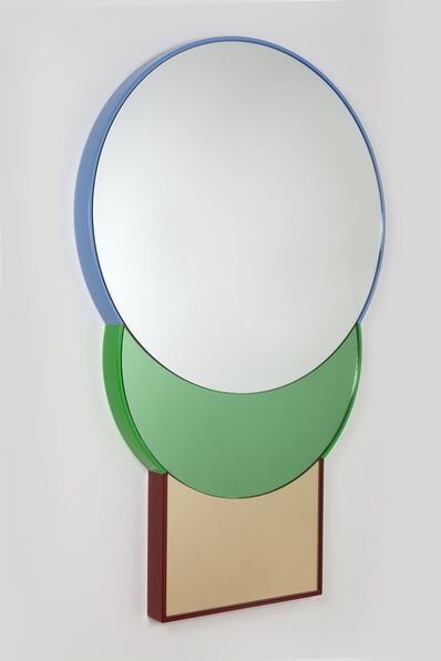 Doshi Levien, '« SQUARABLE LUNE » Mirror', 2014