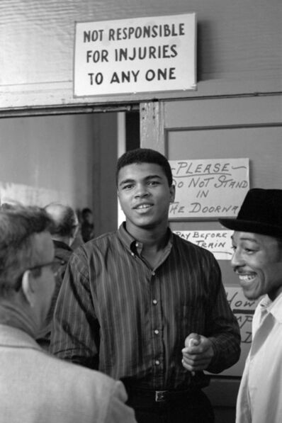 Stanley Weston, 'Not Responsible for Injuries (Muhammad Ali), Los Angeles, California', 1962