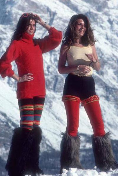 Slim Aarons, 'Winter Wear, Cortina d'Ampezzo', 1976