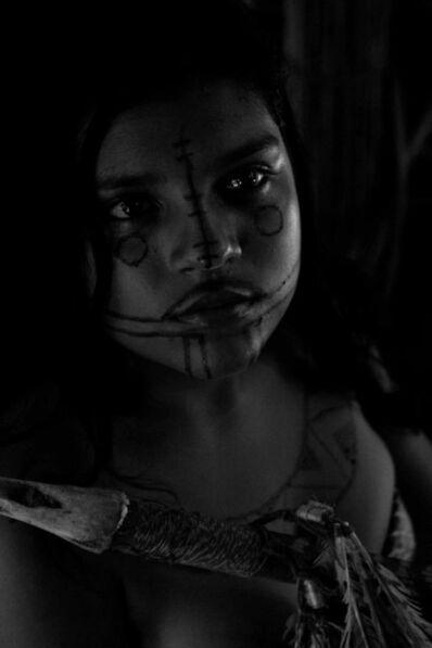 Araquém Alcântara, 'Menina Carajá, Rio Araguaia, Tocantins, Brasil (Karajá girl, Arauguaia river, Tocantins, Brazil', 2006