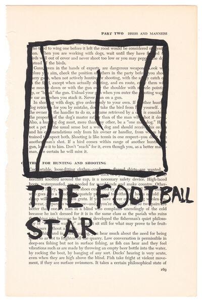 RF Alvarez, 'The Football Star', 2015