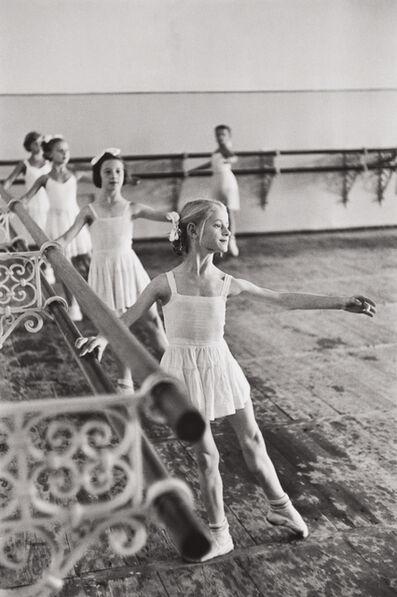 Henri Cartier-Bresson, 'Bolshoi Ballet School, Moscow, USSR', 1954