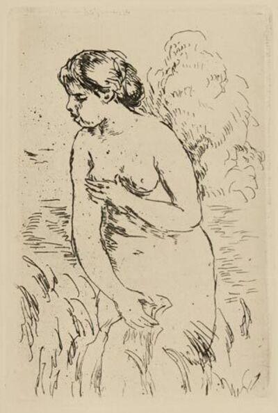Pierre-Auguste Renoir, 'Baigneuse debout à mi-jambes', 1910