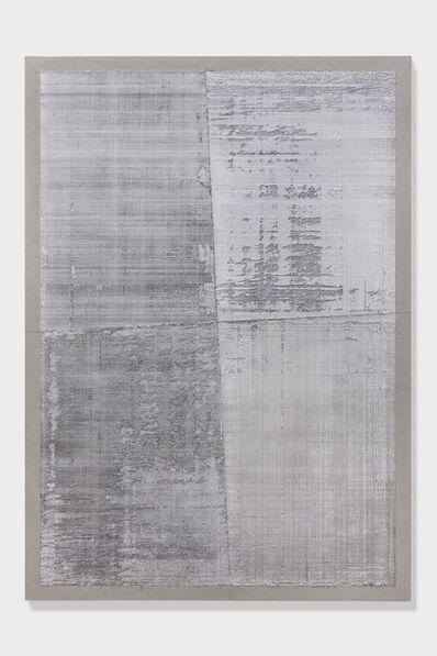 Eric Baudart, 'Papier Millimetre (Big Platinum)', 2018