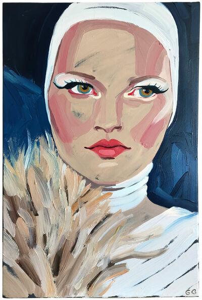 Gill Button, 'Kate Moss in Alexander McQueen S/S 01', 2017