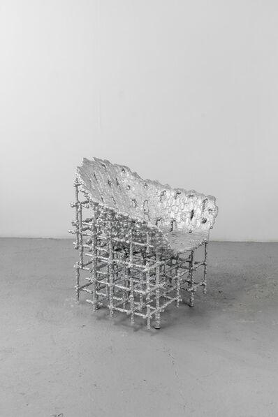 Chris Schanck, 'Alufoil (Shell Chair)', 2016