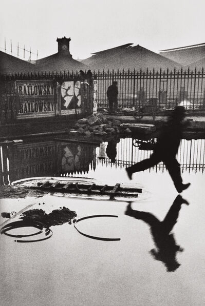 Henri Cartier-Bresson, 'Behind the Gare Saint-Lazare, Paris', 1932