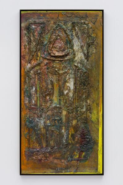 Frank Bowling, 'B'hind th' Alter', 1987