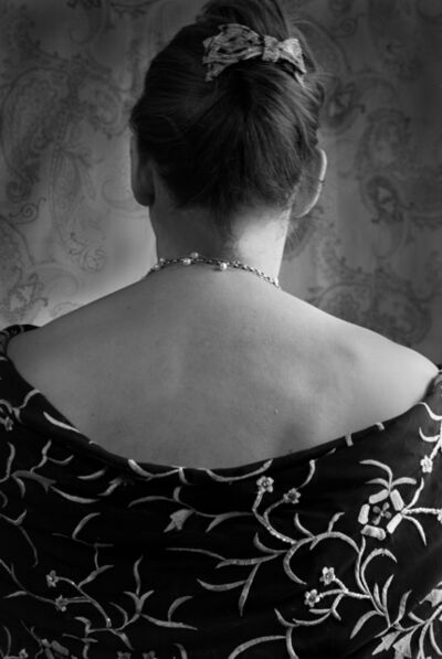 Leslie Hanes, 'Back with Shawl'