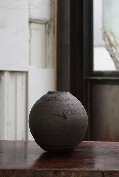 Shiro Tsujimura, 'Yakishime Round Jar', 2019
