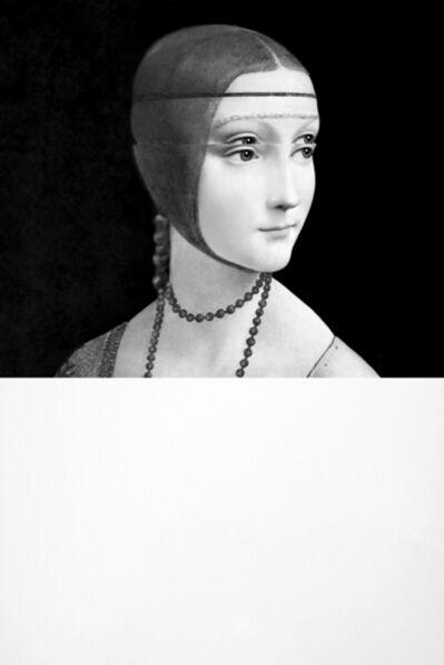 Mariella Bettineschi, 'Leonardo, Dama con Ermellino (Leonardo, Lady with an Ermine)', 2010