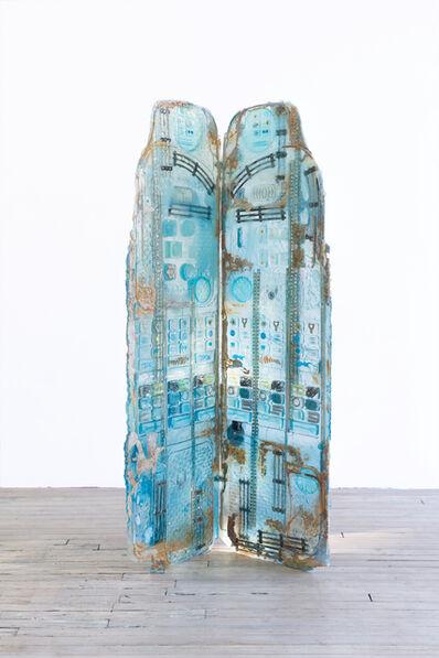 Amy Brener, 'Dressing Screen (Larimar)', 2017