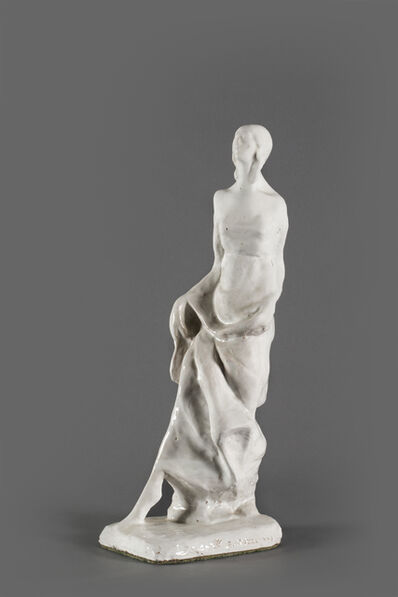 Enrico Mazzolani, 'L'indossatrice, Plaster Sculpture', 1963