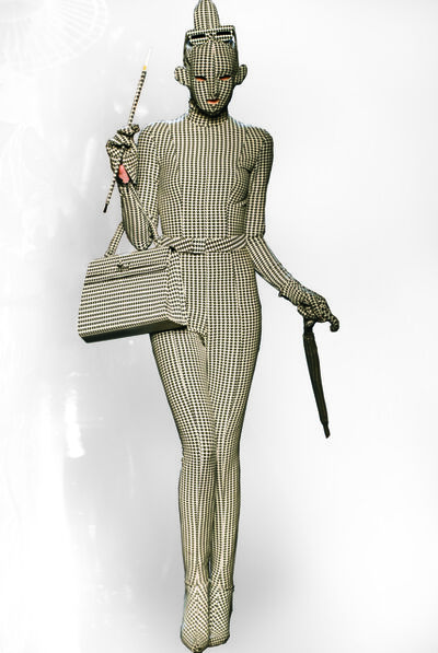 """Jean Paul Gaultier, 'A design from Jean Paul Gaultier's """"French Cancan"""" women's ready-to-wear fall-winter collection of 1991–92, as seen at his thirtieth anniversary retrospective runway show, October 2006', 1991-92/2006"""