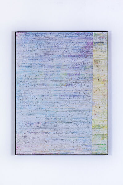 Gijs van Lith, 'Temporary is the New Forever (Swipe Painting) No. 4', 2015