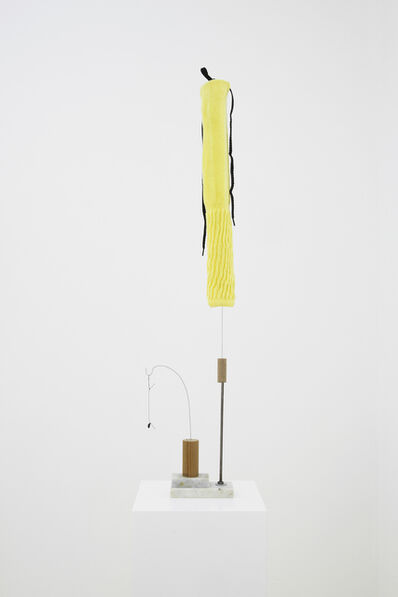 B. Wurtz, 'Untitled (yellow sock)', 2016