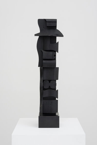Louise Nevelson, 'Small Column XVI (in 2 parts)', 1973