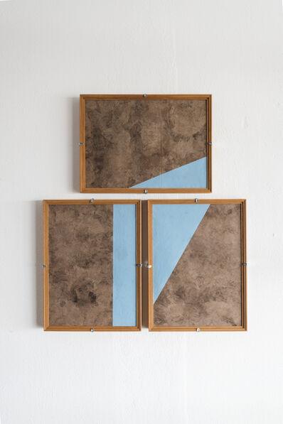 Dario Escobar, 'Composiciones Azules No.09', 2017