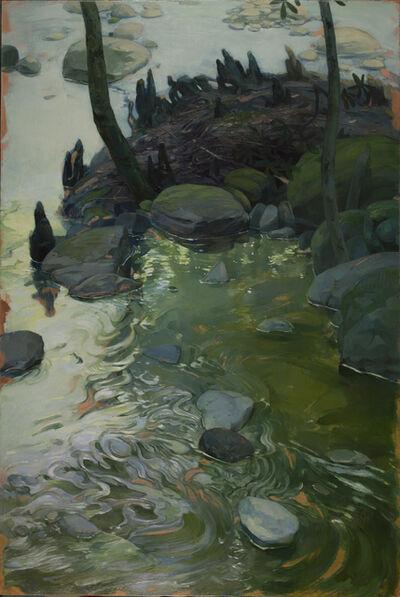 Benjamin J. Shamback, 'River Rocks on Copper', 2016