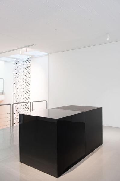 Sol LeWitt, 'Black Cubes (2)', 2000