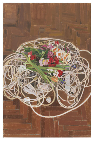 Fatma Shanan, 'Flowers and Cables', 2019