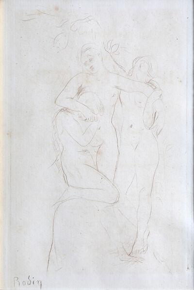 Auguste Rodin, 'Les Ames du Purgatoire', 1893