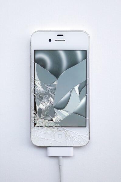 Emilie Brout & Maxime Marion, 'Return of the Broken Screens (Apple iPhone 4 II)', 2016
