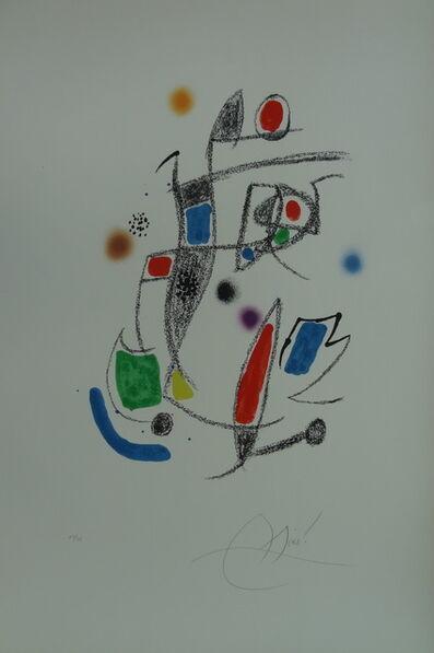 Joan Miró, 'Maravillas Suite', 1975