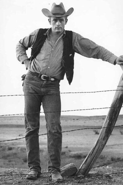 "Frank Worth, 'James Dean on set of ""Giants"" 1955', 1955"