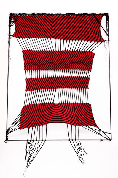 Liz Collins, 'Caution Web', 2015