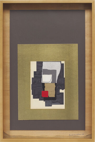 Louise Nevelson, 'Untitled', 1978