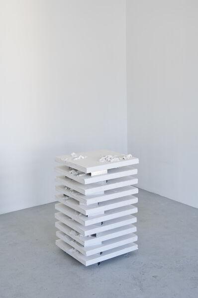 Johannes Wald, 'stack of walk', 2015
