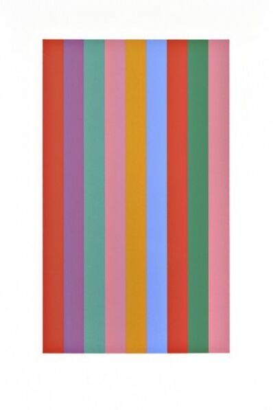 Bridget Riley, 'Sideways', 2010