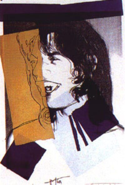 Andy Warhol, 'Mick Jagger FS142', 1975