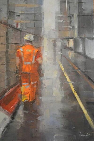 Steven Bewsher, 'Study in Orange '