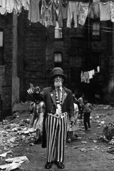 Diane Arbus, 'Max Maxwell Landar, Uncle Sam, New York, NY', 1961