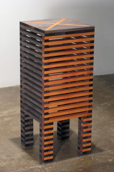 Jackie Ferrara, 'Red X Table', 2007