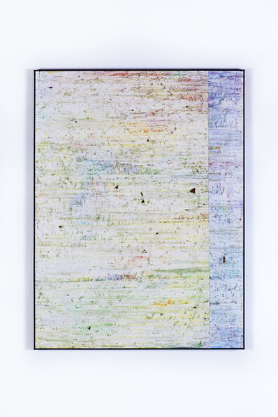Gijs van Lith, 'Temporary is the New Forever (Swipe Painting) No. 3', 2015