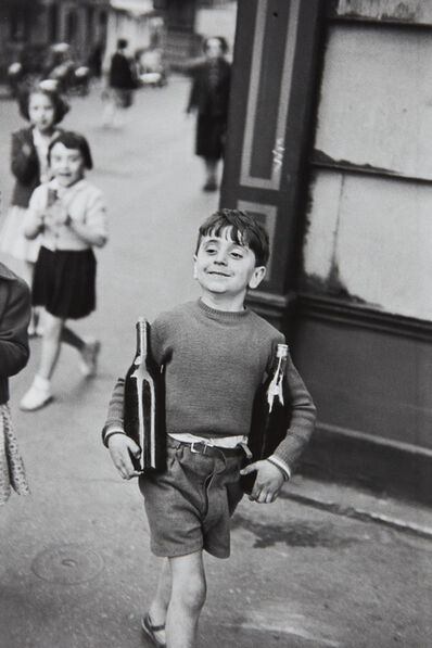 Henri Cartier-Bresson, 'Rue Mouffetard, Paris', 1954-printed later