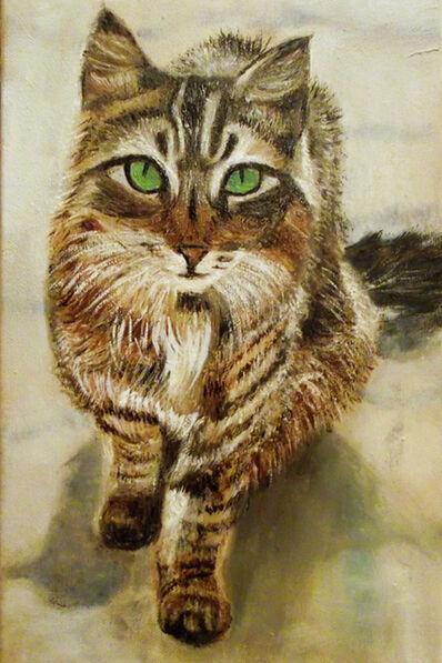 Nadine Wilmet, 'Monsieur le Chat', 2015
