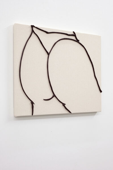 Omari Douglin, 'Untitled (Butt Painting)', 2019