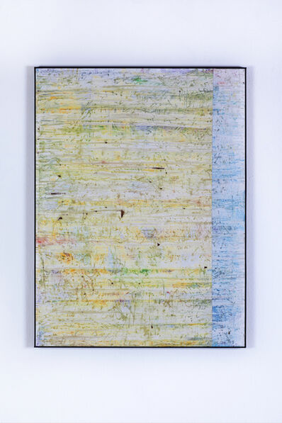 Gijs van Lith, 'Temporary is the New Forever (Swipe Painting) No. 1', 2015