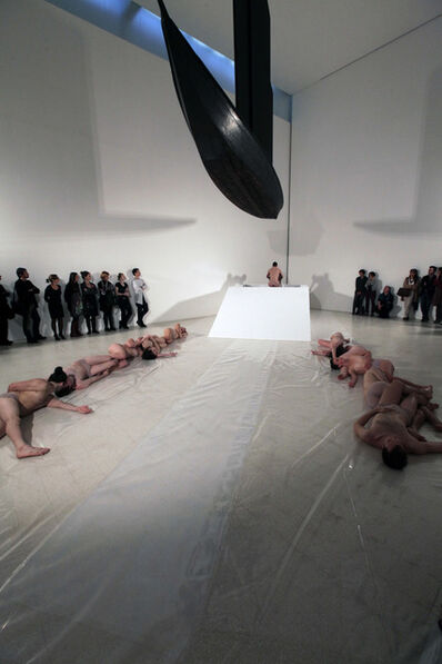 Shen Wei 沈伟, 'site specific performance for Collezione Maramotti', 2011