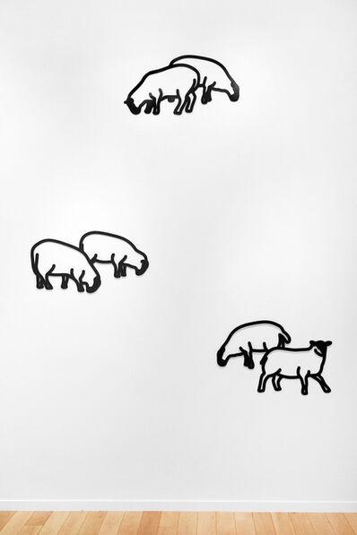 Julian Opie, 'Nature 1 - Sheep', 2015
