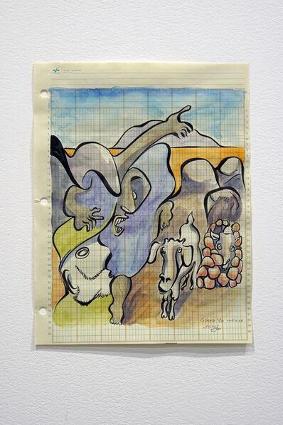 Michael Nicoll Yahgulanaas, 'Gabra, 2015.2.23 from the Lé(d)ger Series', 2015